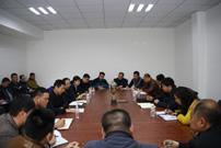 四平市人力资源和社会保障局副局长陈洪彦到四平热力稽查大队调研