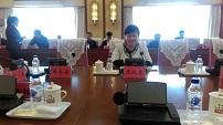 """必威体育投注集团财务总监王晓芝出席庆""""五一""""劳模工匠座谈会"""