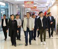 浙江省衢州市考察团 莅临必威体育投注购物中心参观考察