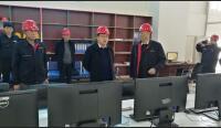 市相关领导莅临热源厂检查指导