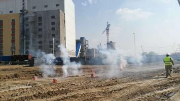 四平热力热源厂举行168MW热水锅炉工程开工仪式